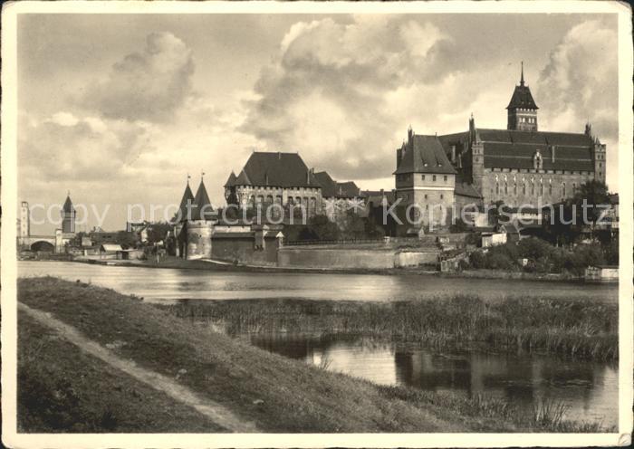 Marienburg Westpreussen Die Marienburg Kat. Malbork Polen