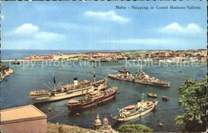 Malta Shipping in Grand Harbour Valletta Kat. Malta