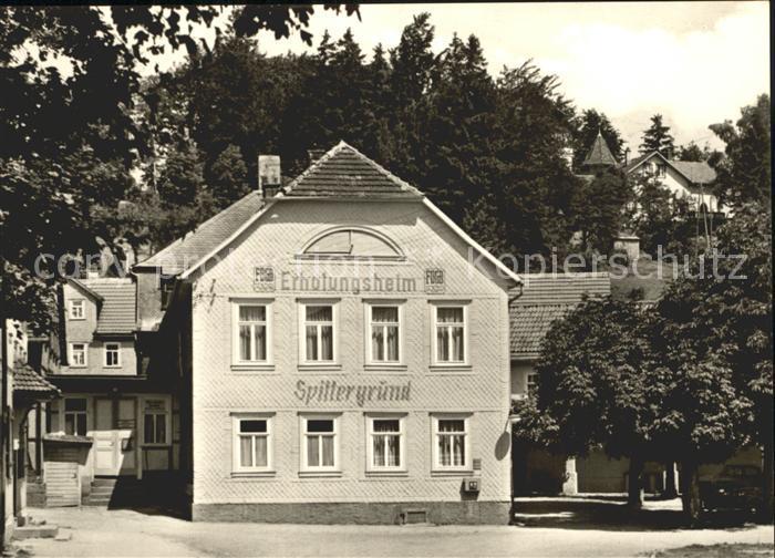 Dietharz Tambach Erholungsheim Spittergund Thueringer Wald Kat. Tambach Dietharz