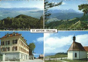 St Anton Oberegg Panorama Hotel Alpenhof Kapelle Kat. St. Anton