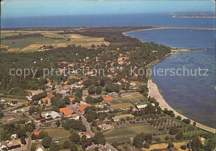 kf26453 Rorvig Fliegeraufnahme Kat. Daenemark