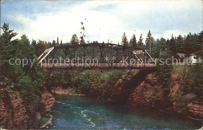 Port Arthur Ontario International Bridge Pigeon River