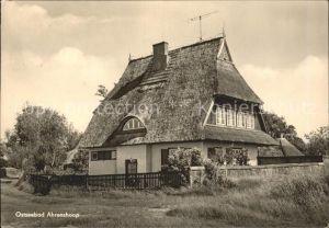 Ahrenshoop Ostseebad Reetdach Haus Ostseebad / Ahrenshoop /Nordvorpommern LKR