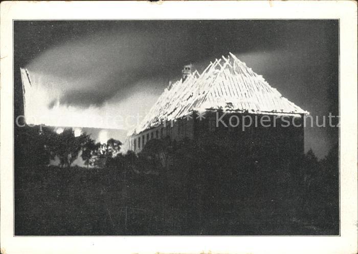 Eibingen Brandkatastrophe vom 3. September 1932 Kat. Ruedesheim Rhein