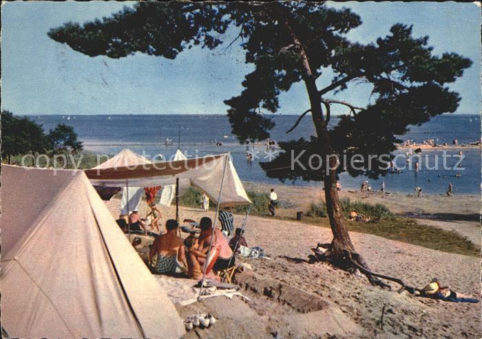 Steinhuder Meer Campingplatz Weisse Duene Strand Kat. Wunstorf
