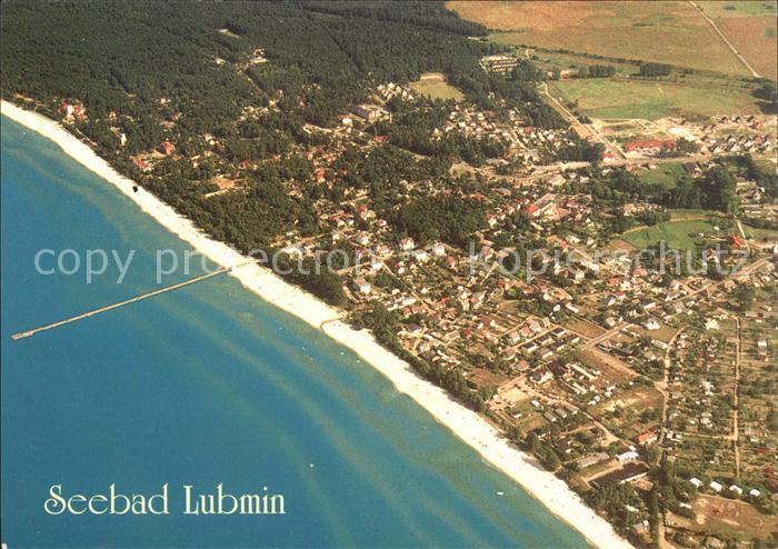 Lubmin Ostseebad Seebad Fliegeraufnahme / Lubmin /Ostvorpommern LKR