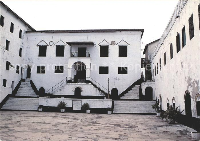 Elmina Governor s Quarters inside St George Castle 15th Century