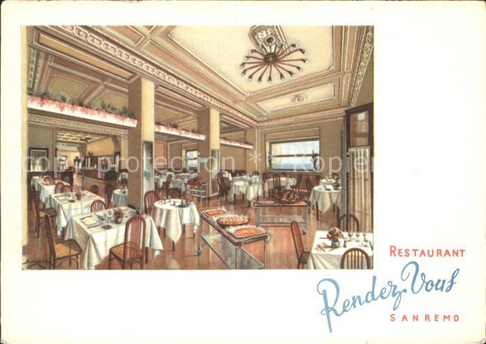 Sanremo Restaurant Rendez Vous Kat.