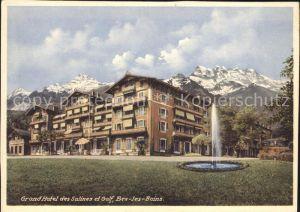 Bex les Bains Grandhotel des Salines et Golf Kat. Bex