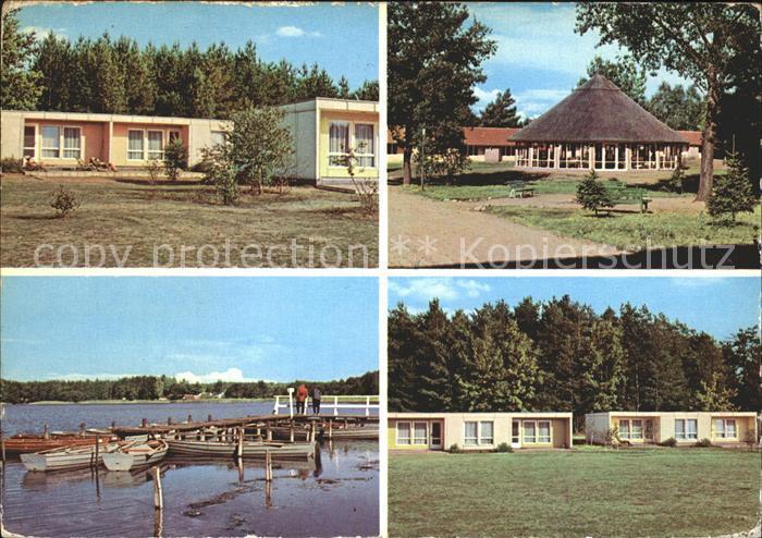 Ahrensdorf Templin Erholungsheim des VEB Leuna Werke Walter Ulbricht / Templin /Uckermark LKR