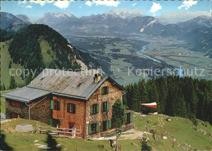 Tirol Region Bayreuther Huette Unterinntal mit Kaisergebirge Kat. Innsbruck