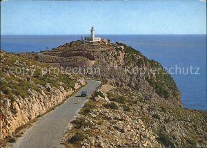 Formentor Leuchtturm Landstrasse dorthin Kat. Cap Formentor Islas Baleares Spanien