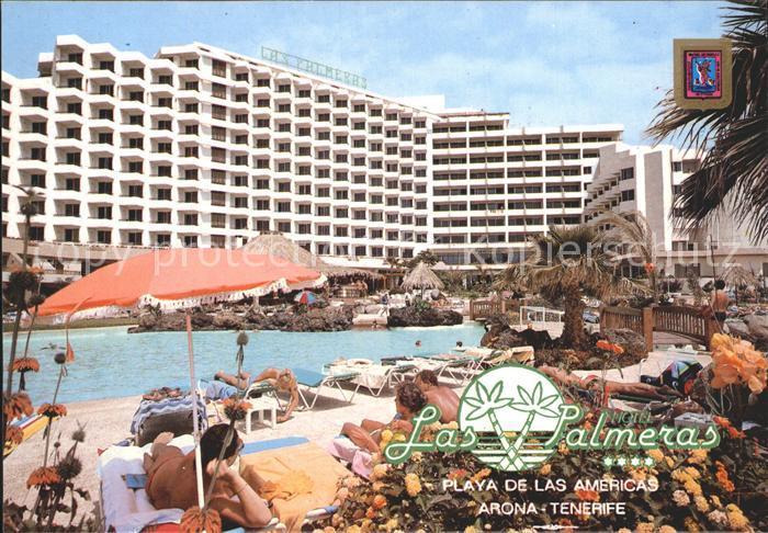 Tenerife Hotel Las Palmeras Playa de las Americas Kat. Islas Canarias Spanien