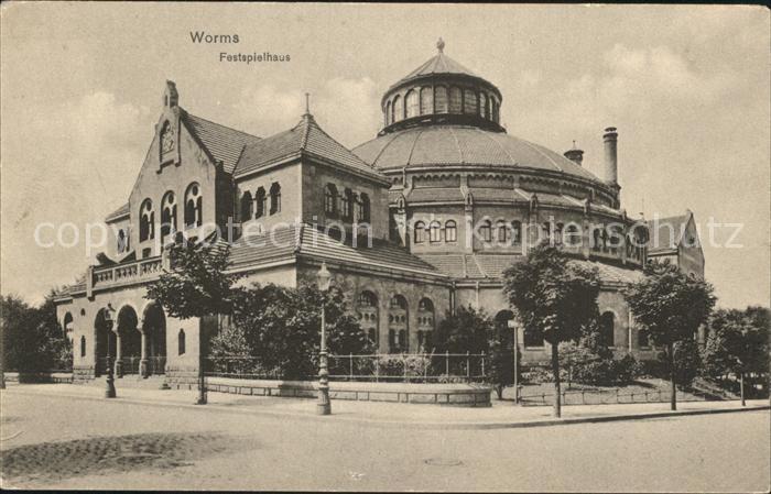 Worms Rhein Festspielhaus Kat. Worms