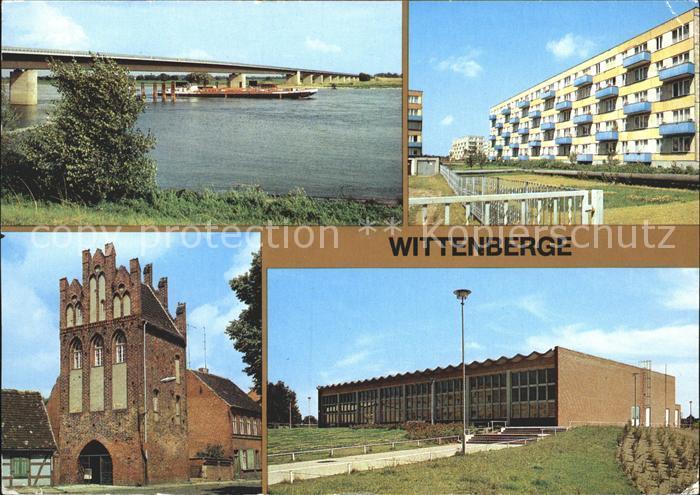 Wittenbergen Elbe Neue Elbbruecke Perleberger Str Steintor Schwimmhalle Kat. Hamburg