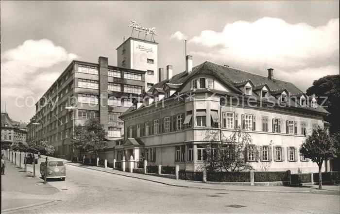 Schwenningen Neckar Kienzle Uhrenfabrik Kat. Villingen Schwenningen
