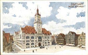Stuttgart Neues Rathaus Kat. Stuttgart