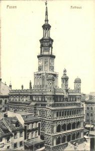 Posen Poznan Rathaus Kat. Poznan