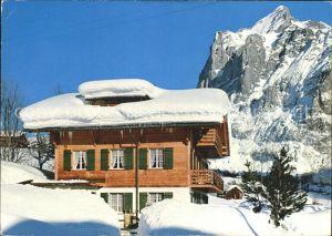 Grindelwald Ferienhaus Skihaus Genossenschaft der Eisenbahner Bern Kat. Grindelwald