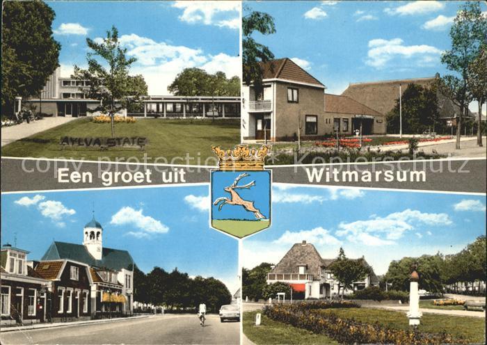Witmarsum Teilansichten Kat. Niederlande