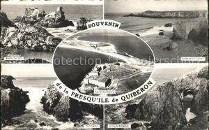 Presqu Ile de Quiberon Rocher du Lion Fort de Penthievre Arche Port Kat. Rennes