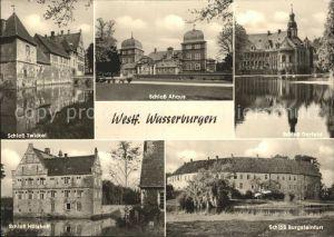 Westfalen Region Schloss Twickel Schloss Ahaus Schloss Darfeld Schloss Huelshoff Schloss Burgsteinfurt Kat. Melle