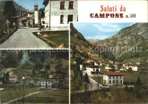 Campione d Italia Strassenpartie Ortsansichten / Campione d Italia /Como