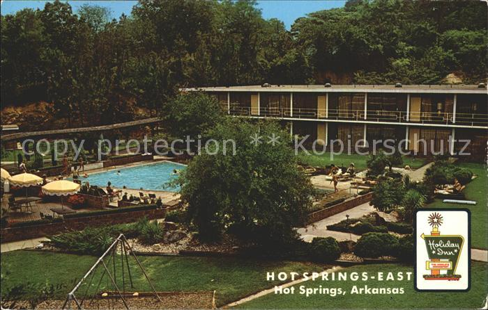Hot Springs Arkansas Holiday Inn Kat. Hot Springs