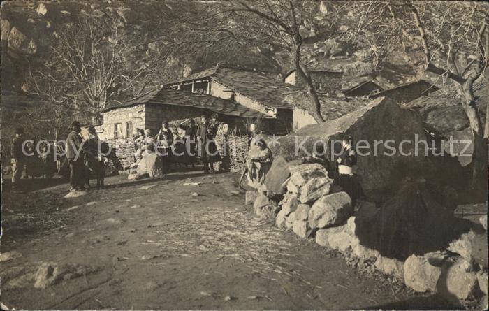 Bosnien Herzegowina Dorfpartie Kat. Bosnien Herzegowina