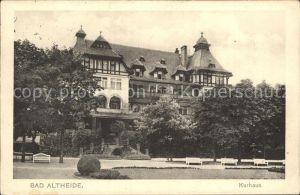 Bad Altheide Kurhaus Kat. Altheide Bad