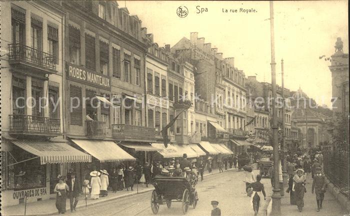 Spa Liege La rue Royale Kat.