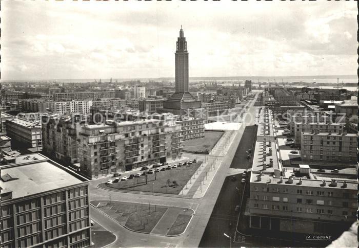 Le Havre Boulevard Francois I Kat. Le Havre