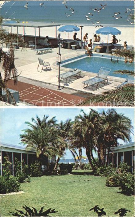 Saint Pete Beach Cadillac on the Gulf Motel Apartments Swimming Pool Beach