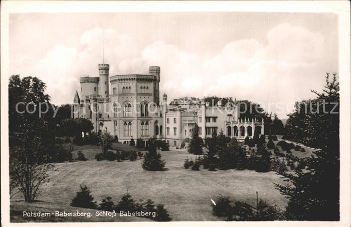 Babelsberg Schloss Babelsberg Kat. Potsdam