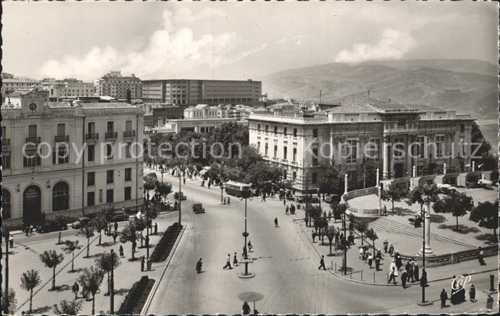Constantine La Place de la Breche et le Palais de Justice Kat. Algerien