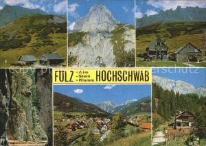 Foelz Aflenz Foelzalm Huette Foelzstein Gasthaus Bergsteiger Almgasthaus  Kat. Aflenz Kurort