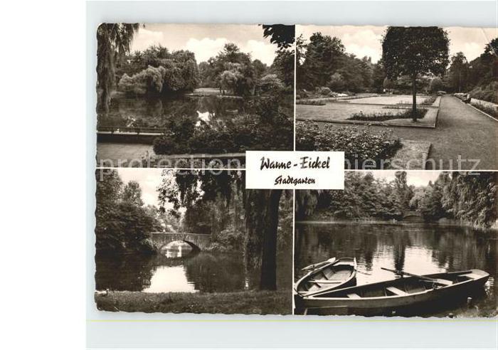 Wanne Eickel Stadtgarten Kat. Herne