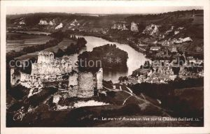 Le Petit Andely Chateau Gaillard  Kat. Les Andelys