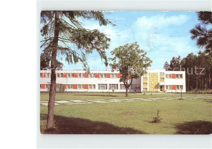 Ahrensdorf Templin Erholungsheim Seehof Kat. Templin