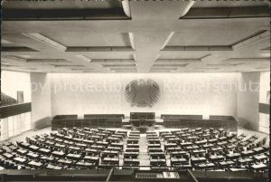 Bonn Rhein Plenarsaal im Bundeshaus Kat. Bonn