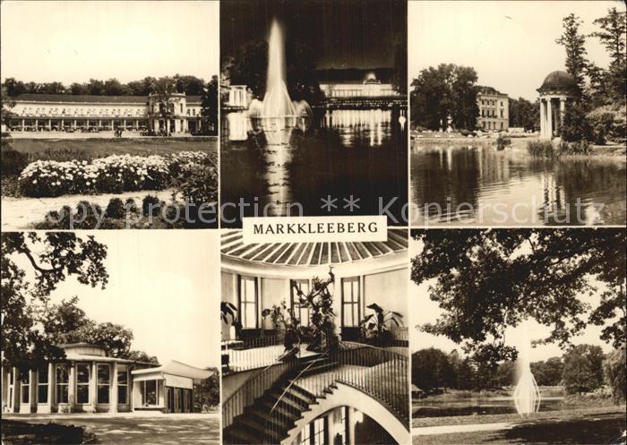 Markkleeberg Parkgaststaette Markkleeberg Kat. Markkleeberg