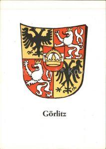Goerlitz Sachsen Wappen Kat. Goerlitz