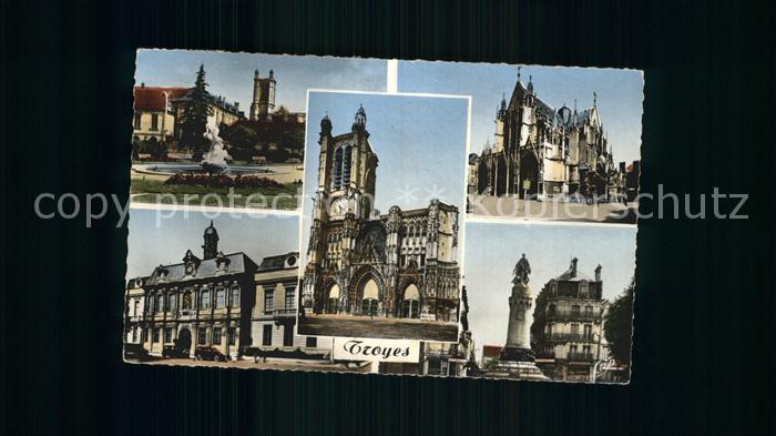 Troyes Aube Eglise Saint Urban Kat. Troyes