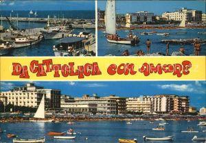 Cattolica Hafen Strand Kat. Cattolica
