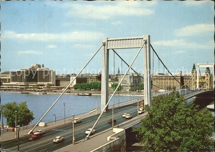 Budapest Erzsebet Hid Kat. Budapest