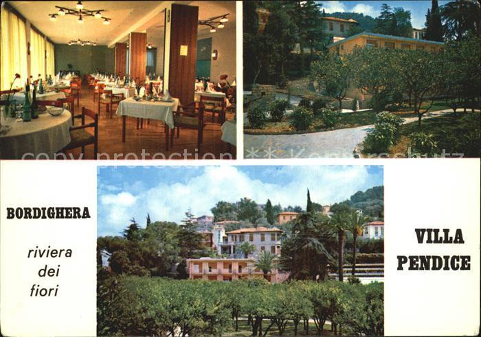 Bordighera Villa Pendice  Kat. Bordighera