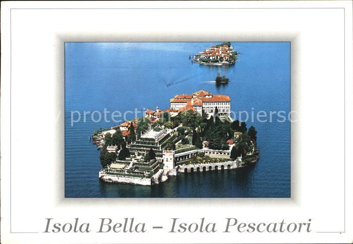 Isola Bella Isola dei Pescatori Kat. Lago Maggiore