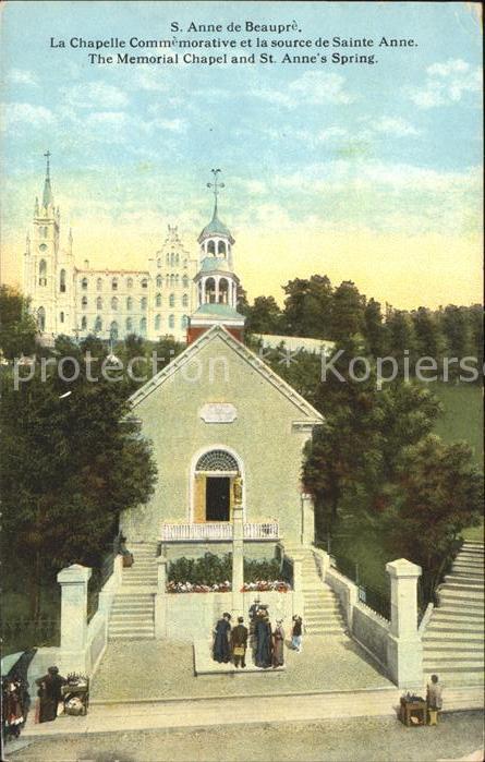 Sainte Anne de Beaupre Chapelle Commemorative Source de Sainte Anne Kat. Ste Anne de Beaupre