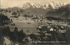 Waldegg Beatenberg Regina Palace Hotel Eiger Moench Jungfrau Berner Alpen / Beatenberg /Bz. Interlaken