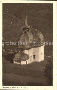 Disentis GR Kapelle in Disla Kat. Disentis